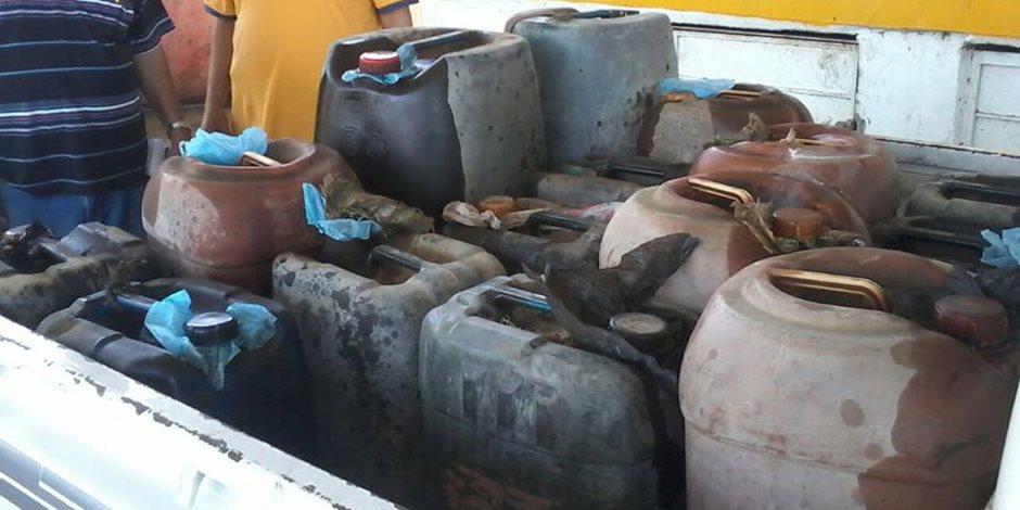 ضبط 98 قضية مواد بترولية في المحافظات