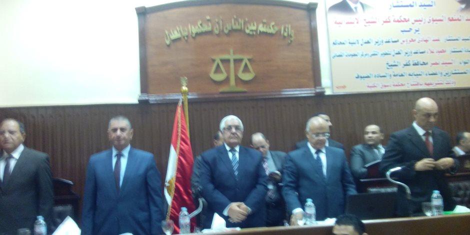 افتتاح محكمة دسوق بكفر الشيخ بعد تجديدها لاحتراقها في أحداث ثورة 25 يناير  ( صور )
