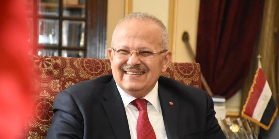 الخميس.. رئيس جامعة القاهرة يعقد مؤتمرا صحفيا
