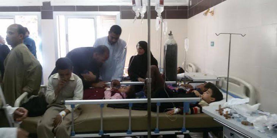تسمم 32 شخصا من عائلة واحدة بعد تناولهم لبنا فاسدا بسوهاج