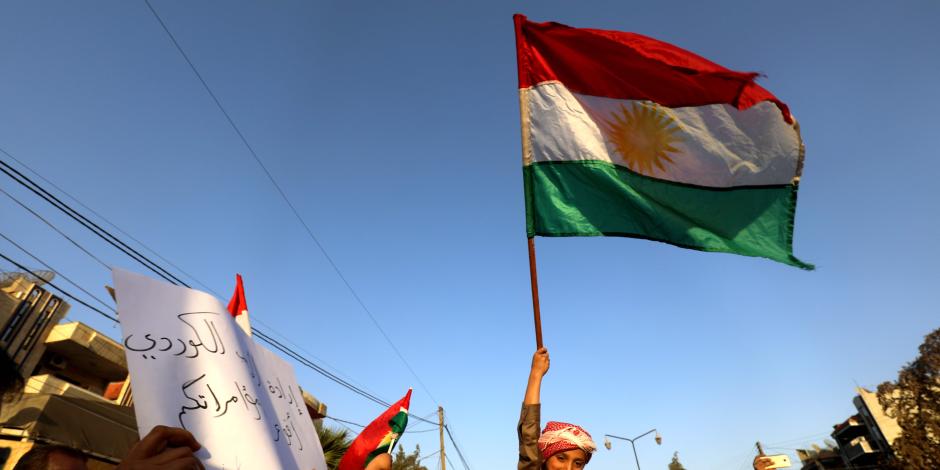 """تظاهرات كردية في ألمانيا ضد أردوغان احتجاجا على اعتداءات """"عفرين"""""""