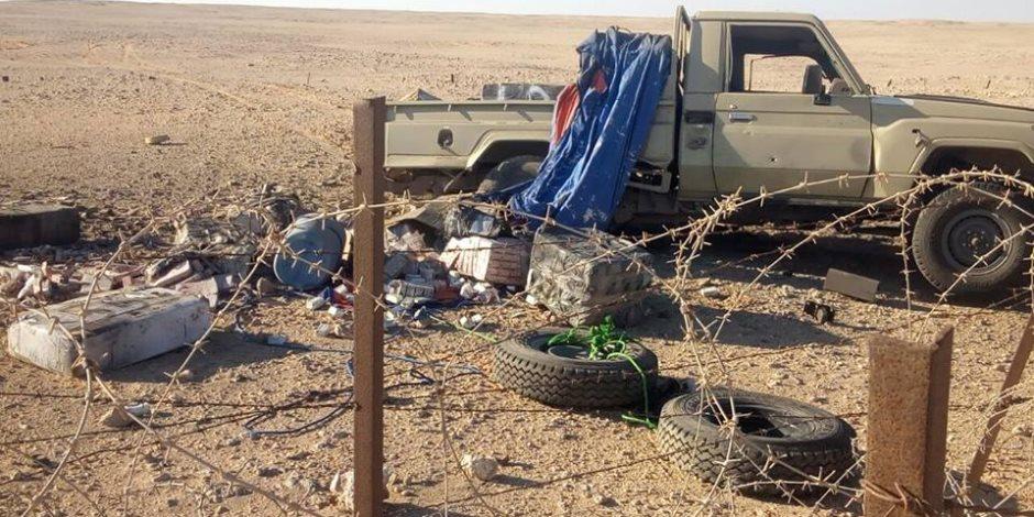 حرس الحدود يضبط أكبر شحنة مخدرات في المنطقة الغربية.. 3 ملايين قرص و120 كيلو حشيش