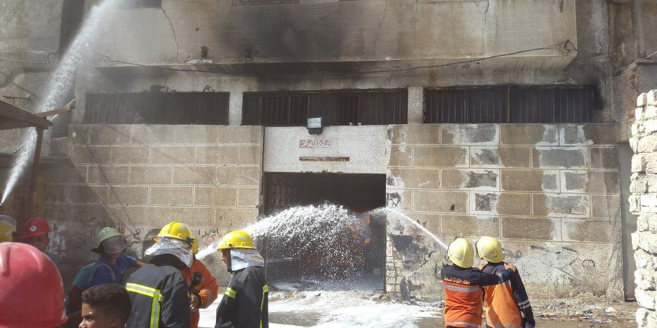 موت وخراب ديار.. الحماية المدنية تحصّل خدمات نظير إطفاء الحرائق بالمصانع
