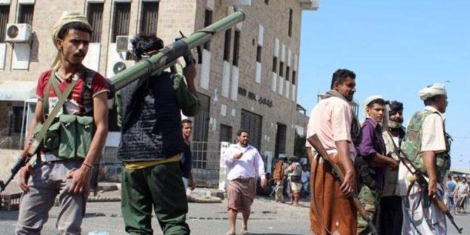 المقاومة الشعبية اليمنية تطرد الحوثيين من مركز مديرية ردمان