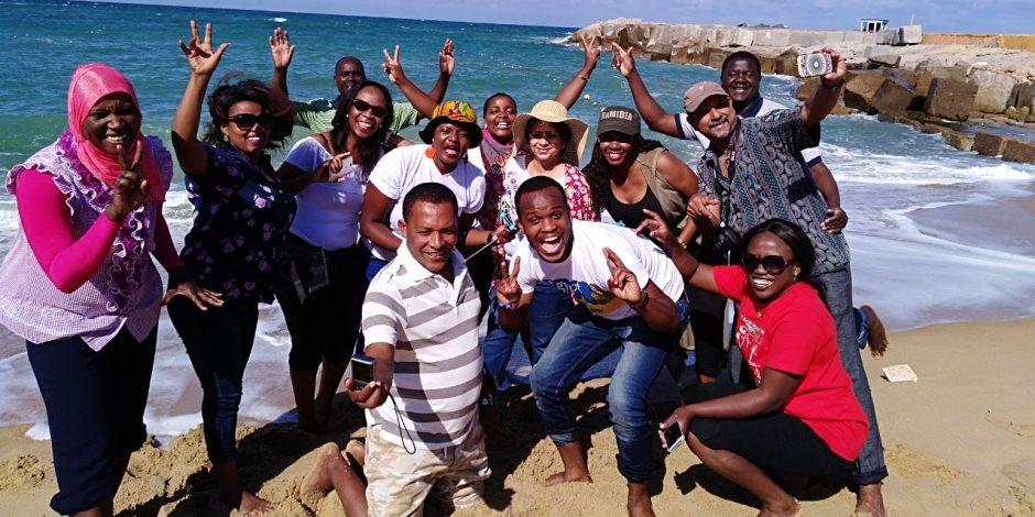 الإسكندرية تستقبل وفد الإذاعيين الأفارقة بالدورة المتقدمة للأعلى للإعلام
