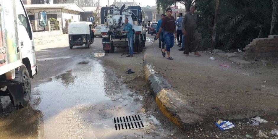 يبلغ عددها 167.. كل ما تريد معرفته عن خدمات الصرف الصحي بـ«قرى الجيزة»