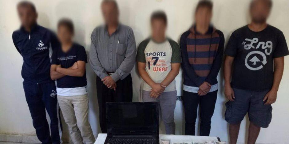 حملة أمنية بالبحيرة تضبط 1019متهمًا هاربًا و3 طن دقيق مدعم