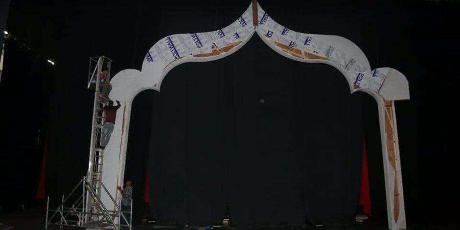 الأوبرا تتزين لاستقبال مهرجان الموسيقى العربية