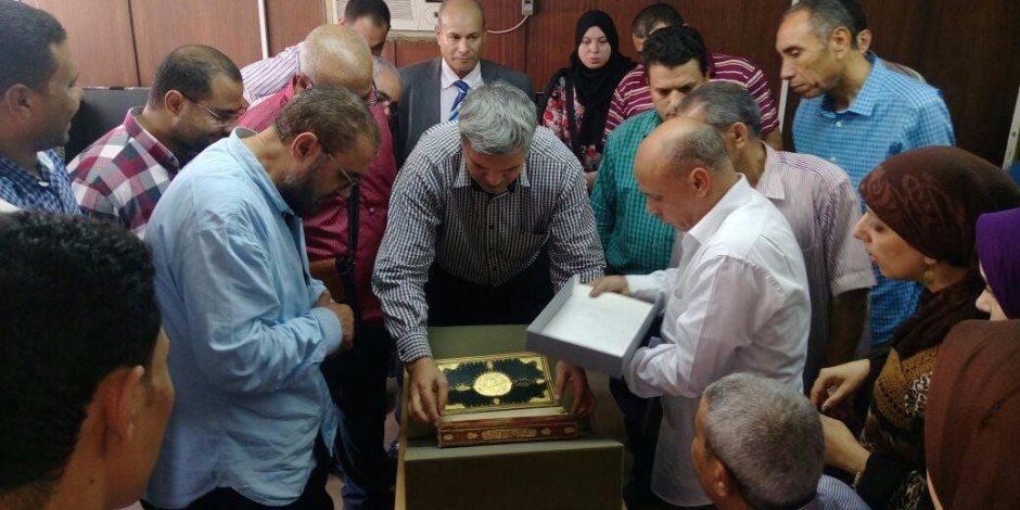 جولة لمدرسة الخط العربي في دار الكتب والوثائق
