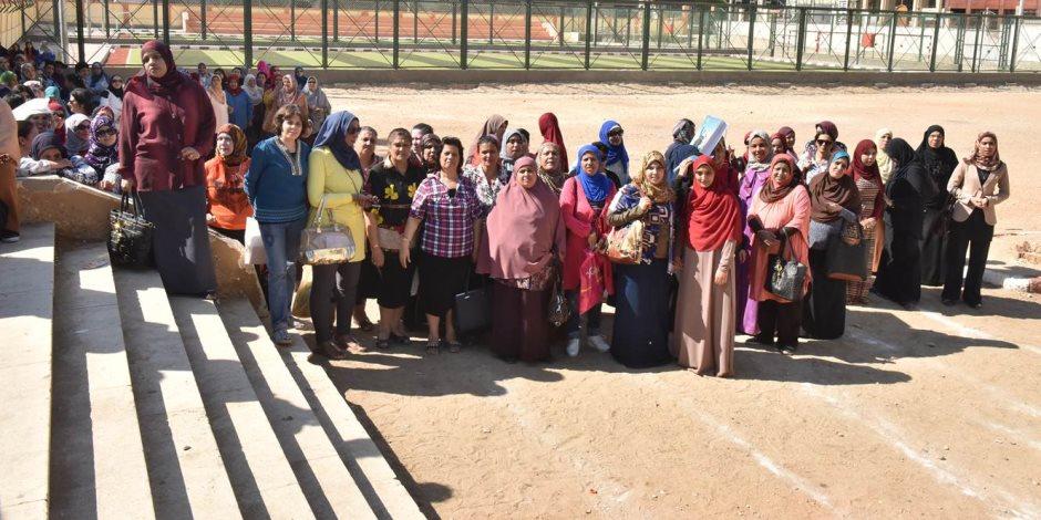 محافظة أسيوط تنفذ تجربة عملية على الإخلاء الآمن للديوان في حالات الكواراث (صور)