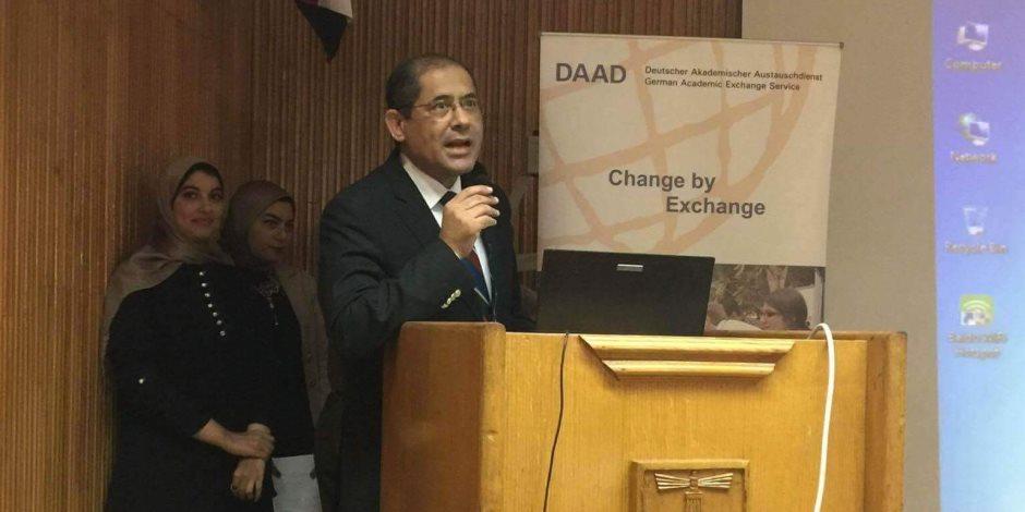 سفير ألمانيا يزور كلية العلوم جامعة الإسكندرية (صور)