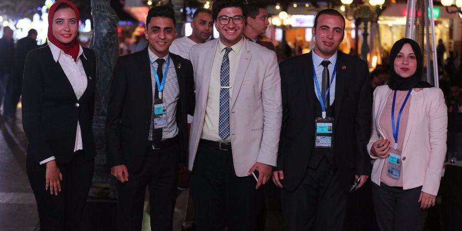 """منتدى شباب العالم بشرم الشيخ.. """"البهجة مالية الوشوش"""" (صور)"""