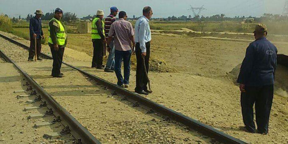 السكة الحديد تعتذر عن تأخير قطار الواسطي المنيا لسقوط عجلة البوجى