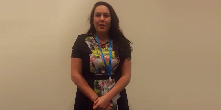 وشهد شاهد من أهلها.. ليلى من أمريكا: الرئيس السيسى يقوم بمساعي عظيمة لحفظ السلام (فيديو)