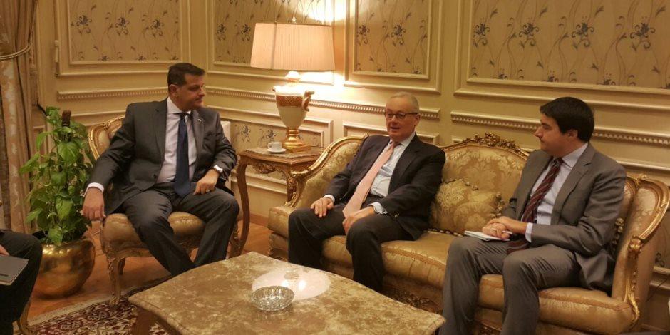 رئيس خارجية البرلمان يلتقى بسفير إيطاليا بالقاهرة (صور)
