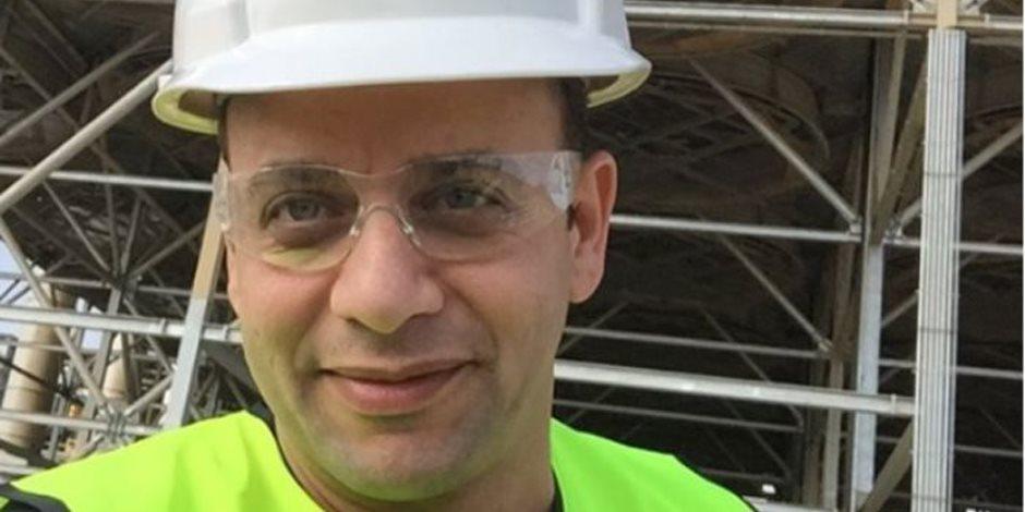 """مصطفى قمر """"مهندس"""" في العاصمة الإدارية الجديدة"""
