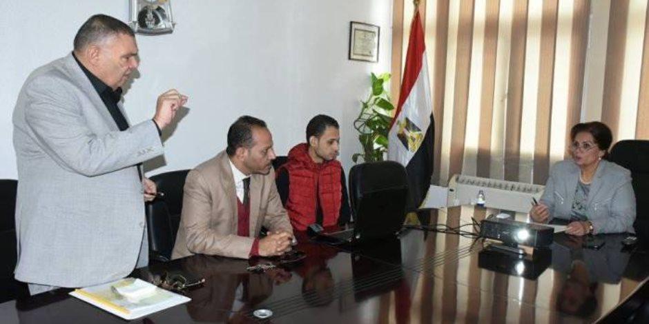"""إشراف """"مركز معلومات شبكات المرافق بالبحيرة"""" على نظيره في الإسكندرية"""
