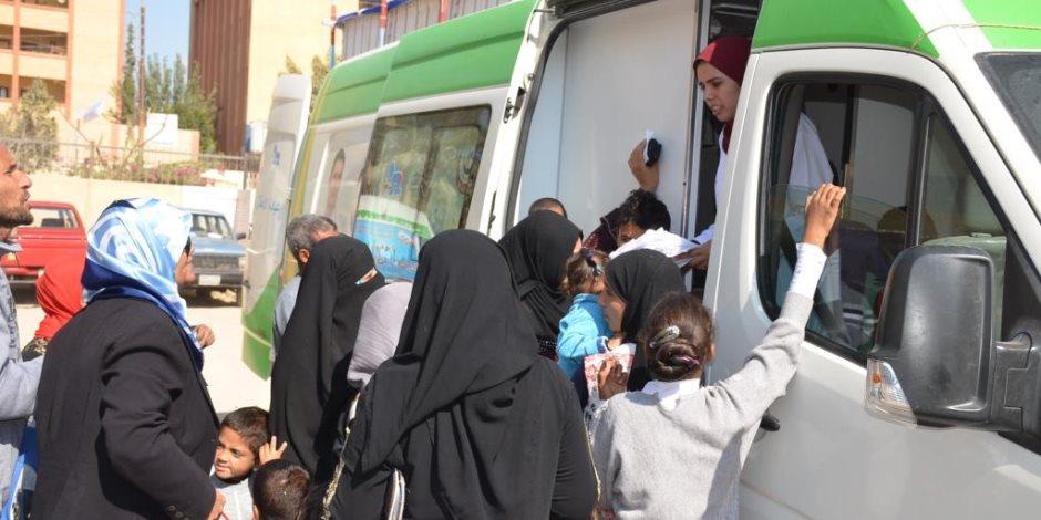 الصحة: تقديم الخدمة الطبية بالمجان ل 53 ألف مواطن بـ17 محافظة خلال 15 يوم