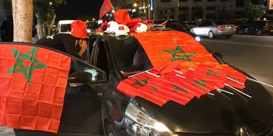 بعد تأهل المغرب لكأس العالم.. إصابة 22 من رجال الشرطة فى بروكسل