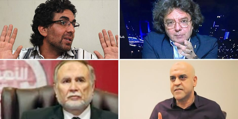 هل يتوقف نباح كلاب الإخوان؟.. إدراج معتز مطر ومحمد ناصر و185 آخرين بقوائم الإرهاب