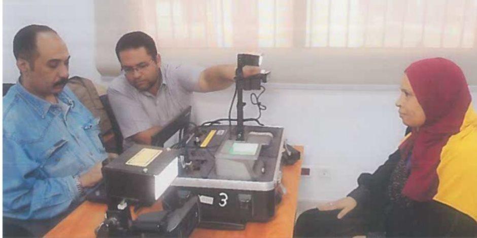 وزارة الداخلية: تجديد 829 بطاقة رقم قومي لسيدات حي الاسمرات