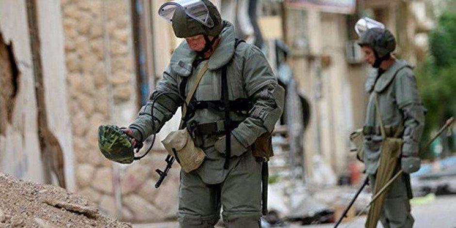 الروس يدمرون 378 مادة متفجرة في دير الزور السورية