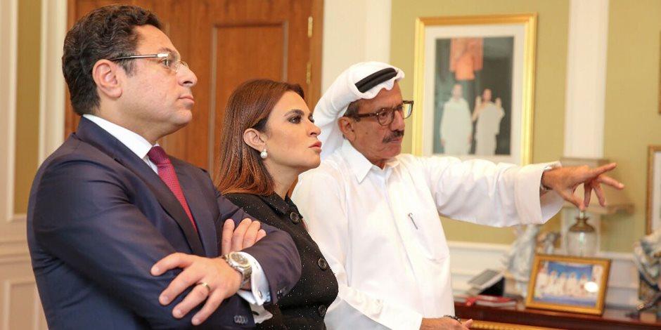سحر نصر تزور مجموعة الحبتور الإماراتية