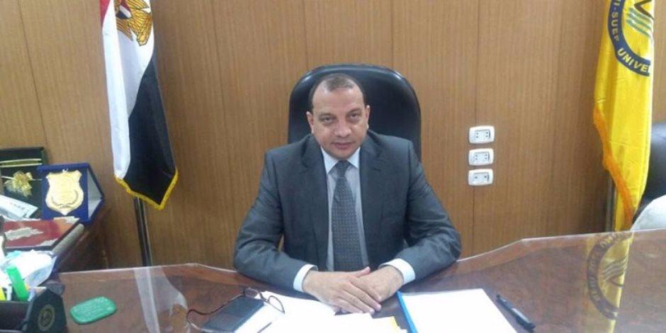 رئيس جامعة بني سويف: تسكين 75 طالبة فورا بالمدينة الجامعية للطالبات