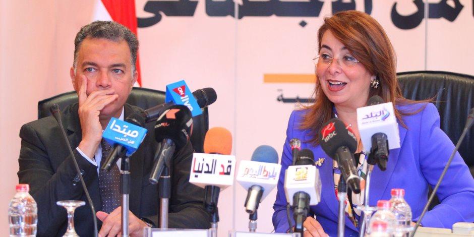 وزيرة التضامن: كشفنا عن المخدرات بين 7 آلاف سائق أتوبيس مدارس