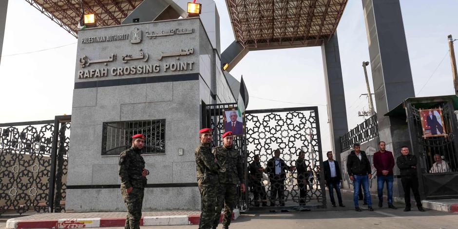 انتظام تشغيل معبر رفح بين مصر وقطاع غزة