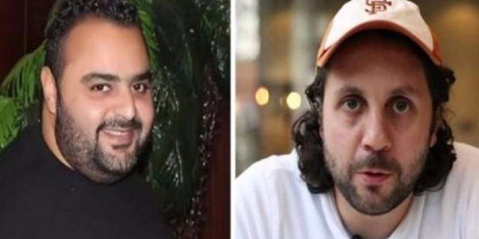 """هشام ماجد في كواليس فيلم """"قلب أمه"""" (صور)"""