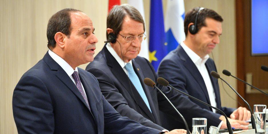 تركيا حاضرة في مباحثات قبرص ومصر واليونان.. الرئيس القبرصي: أنقرة تضع العراقيل لجلب الأزمات