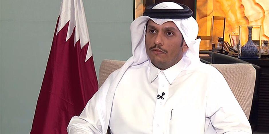 تصريحات وزير الخارجية القطري المتناقضة.. يزعم حرص الدوحة على استقرار القاهرة ويمول العناصر الإرهابية