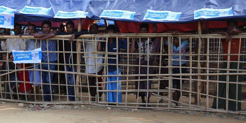 وفد الأزهر الإغاثي يصل مخيمات الروهينجا ببنجلاديش قبل بدء توزيع المساعدات (صور)