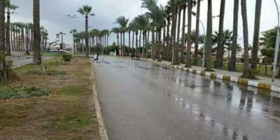موجة من الطقس السيئ تجتاح المنوفية وأمطار خفيفة علي عدة مراكز
