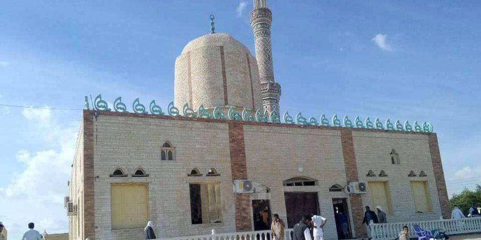 قرية الرحامنة بدمياط تتشح بالسواد لاستشهاد أحد أبنائها في أحداث مسجد الروضة