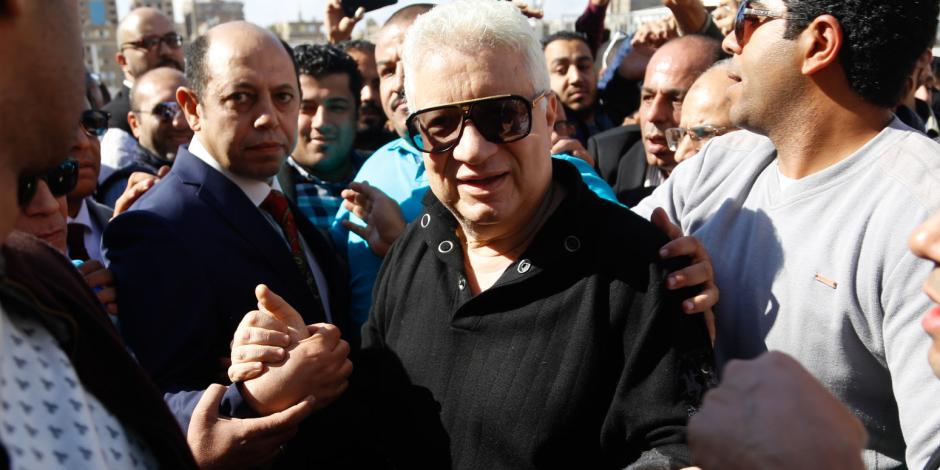 مرتضي منصور : الناس بتعامل الزمالك على أنه مستعمرة إسرائيلية
