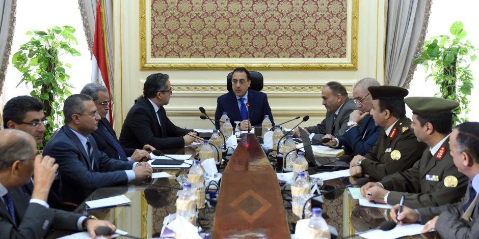 وزير الإسكان يلتقي وزير الآثار لمتابعة الموقف التنفيذي للمتحف المصري الكبير (صور)
