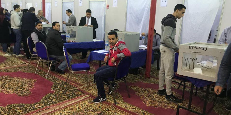 انتخابات الأهلي .. الإذاعة الداخلية ترفض الدعاية داخل الخيمة الإنتخابية ( صور )