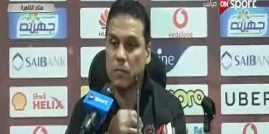 """البدرى يوضح لـ""""ON Sport"""" أسباب تبديل عبد الله السعيد أمام الزمالك"""