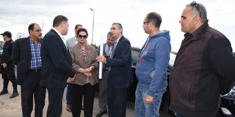 وزارة الصناعة تتسلم 43 فدان لإقامة منطقة الصناعات النسيجية بكفر الدوار