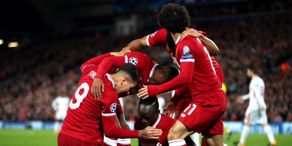 اهداف مباراة ليفربول وسبارتاك موسكو بدورى الابطال