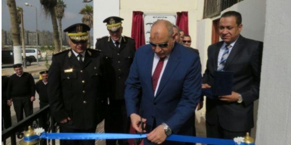 مساعد وزير الداخلية لقطاع السجون يفتتح مبنى جديد للترحيلات بسجون طرة
