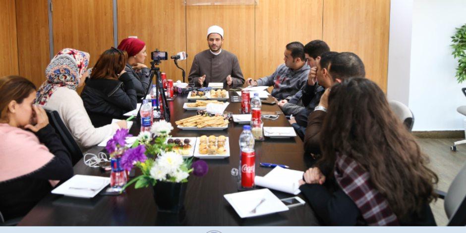"""أحمد المالكي في ندوة صوت الأمة: مصطلح """"أهل الذمة"""" سقط مع الخلافة.. و""""اللي يرفع السلاح يُواجه بالسلاح"""" (صور)"""