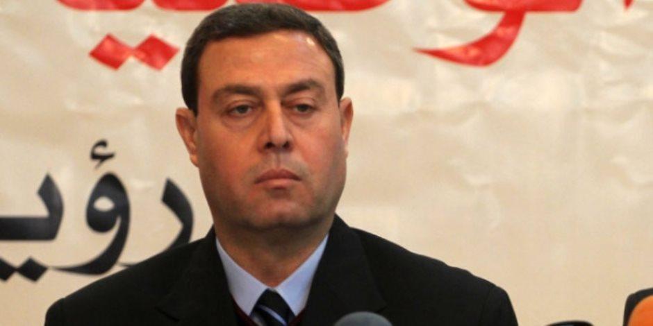 سفير فلسطين بالقاهرة ينعي شهداء مصر  في حادث كنيسة الشهيد مارمينا بحلوان
