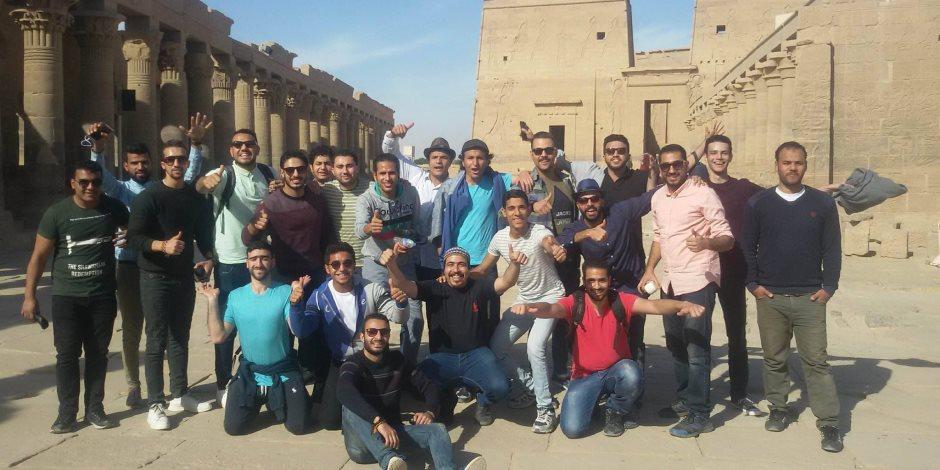 500 مشارك من الجامعات المصرية برحلات الأقصر وأسوان تحت رعاية وزارة الشباب