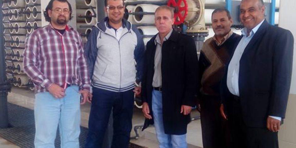 رئيس مركزية المياه الجوفية لسيناء والصحراء الشرقية يوجه بالمراقبة المستمرة للخزانات