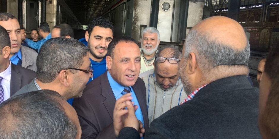 رئيس هيئة السكة الحديد: لم نناقش زيادة أسعار التذاكر في هذه المرحلة