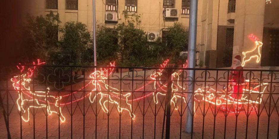 """الكاتدرائية تتزين استعدادًا لعيد الميلاد """"صور"""""""