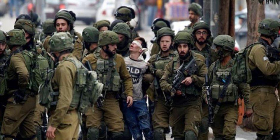 جيش الاحتلال الإسرائيلي يعتقل عددا كبيرا من الأطفال الفلسطينيين